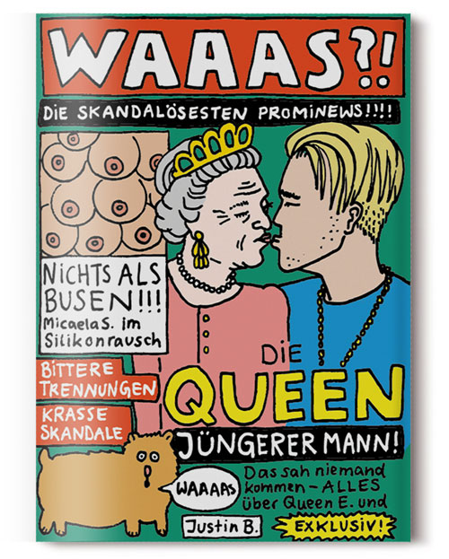 Sandra Bayer Illustration Comic WAAAS?! Prominews