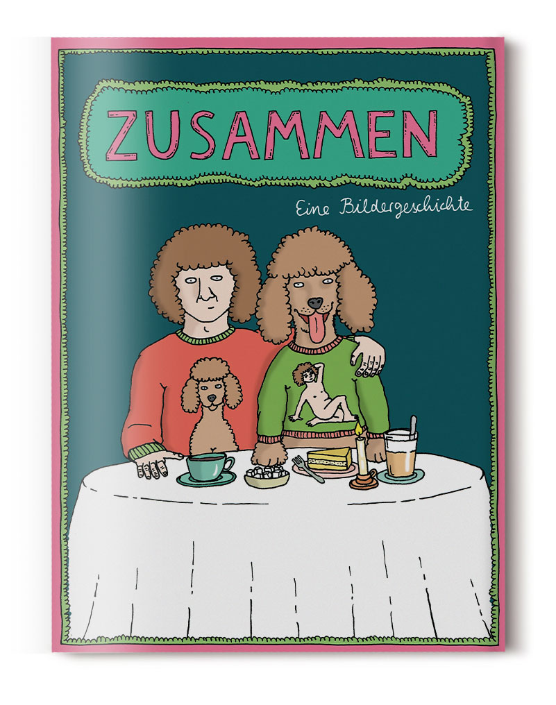 Sandra Bayer Illustration Zusammen Comic