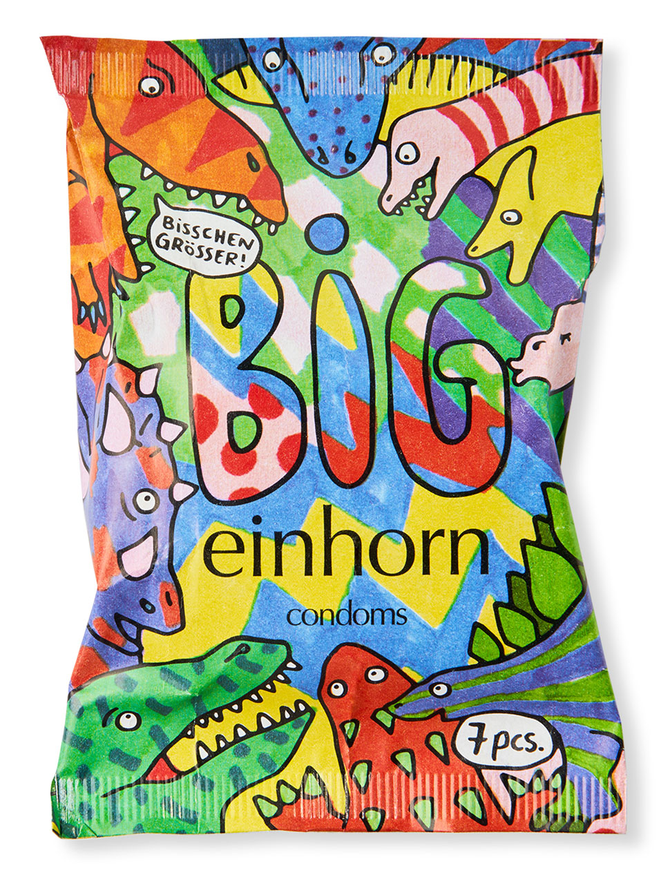 Sandra Bayer Illustration Design einhorn condoms BIG Tyrannosaurus Sex